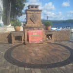 Belknap County Pavers and outdoor fireplaces