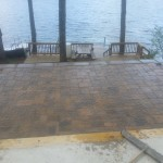 Paver Patios installed in Meredith New Hampshire, Belknap County.