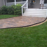 Paver walkway Tuftonboro New Hampshire