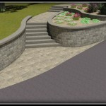 Landscape Contractor, Retaing walls and stairs in New hampshire, Belknap County. Gilford, Meredith and laconia.