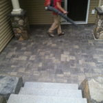 Pavers, Granite Steps, Gilford, Meredith New Hampshire, Paver Installers, Granite Steps Installers.