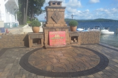 Outdoor Fireplaces and Paver Patios New Hampshire's Lakes Region