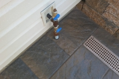 Techo-Bloc pavers and drainage system