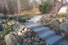 Granite Steps installed in Meredith, NH