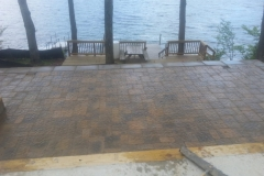 Belgard Paver Patio installed in Meredith New Hampshire, Belknap County. Natures Elite Landscaping serves all of New Hampshire