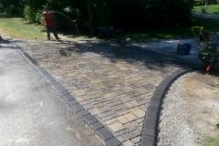 Belgard Permeable Paver Driveway Apron