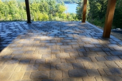 Meredith, New Hampshire Belknap County Paver Patio installed