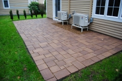 Techo-Bloc Permeable Paver Patio installed in South Down Shores Laconia