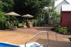 Belgard Paver patios installed in Laconia, New Hampshire, Belknap County