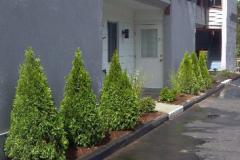 Pier 3 Condominiums Laconia, NH Landscaping installation