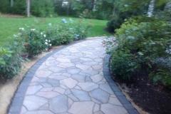 Belgard Mega-Arbel Paver Walkway with border