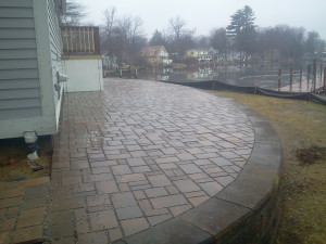 Permeable Paver patios New Hampshire
