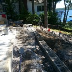 Paver Patios installed in Meredith New Hampshire, Belknap County