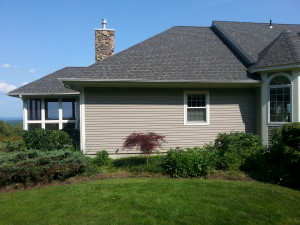 Meredith New Hampshire Landscaping before picture