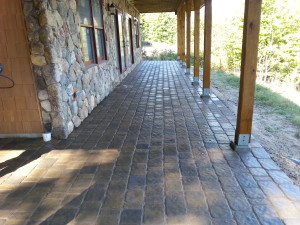 Pavers installed in Meredith New Hampshire, Belknap County