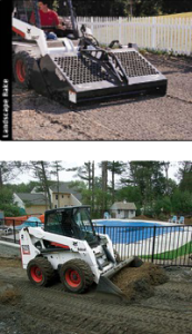 Landscape Design and Construction using Machines