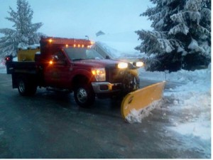 Full Snow Removal Services Plow Truck