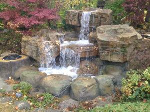 Outdoor Water Features Waterfalls