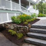 Granite steps, Paver walkways, Landscaping