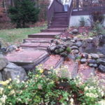 Pavers.Granite steps. Meredith NH, Lakes Region